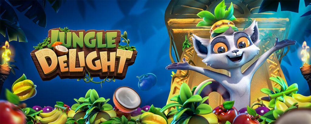 เกมเก็บผลไม้ลีเมอร์ตัวป่วนกับ Jungle Delight